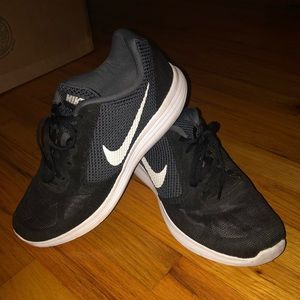 Nike Sneakers in Black and White